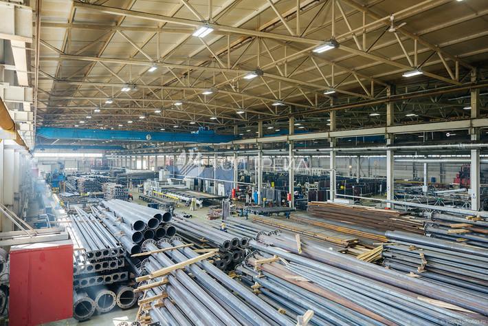 Производство опор освещения, производство металлоконструкций