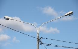 Металлические кронштейны для опор освещения