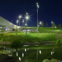 Умное освещение начало работать в парке «Зарядье»